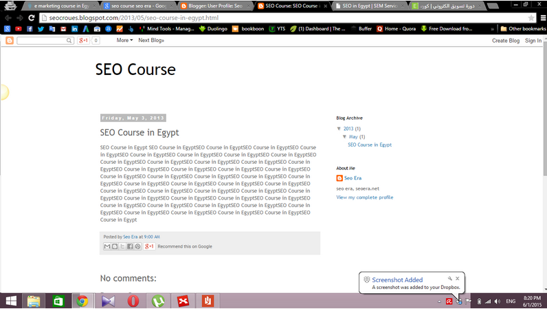 seo course in egypt