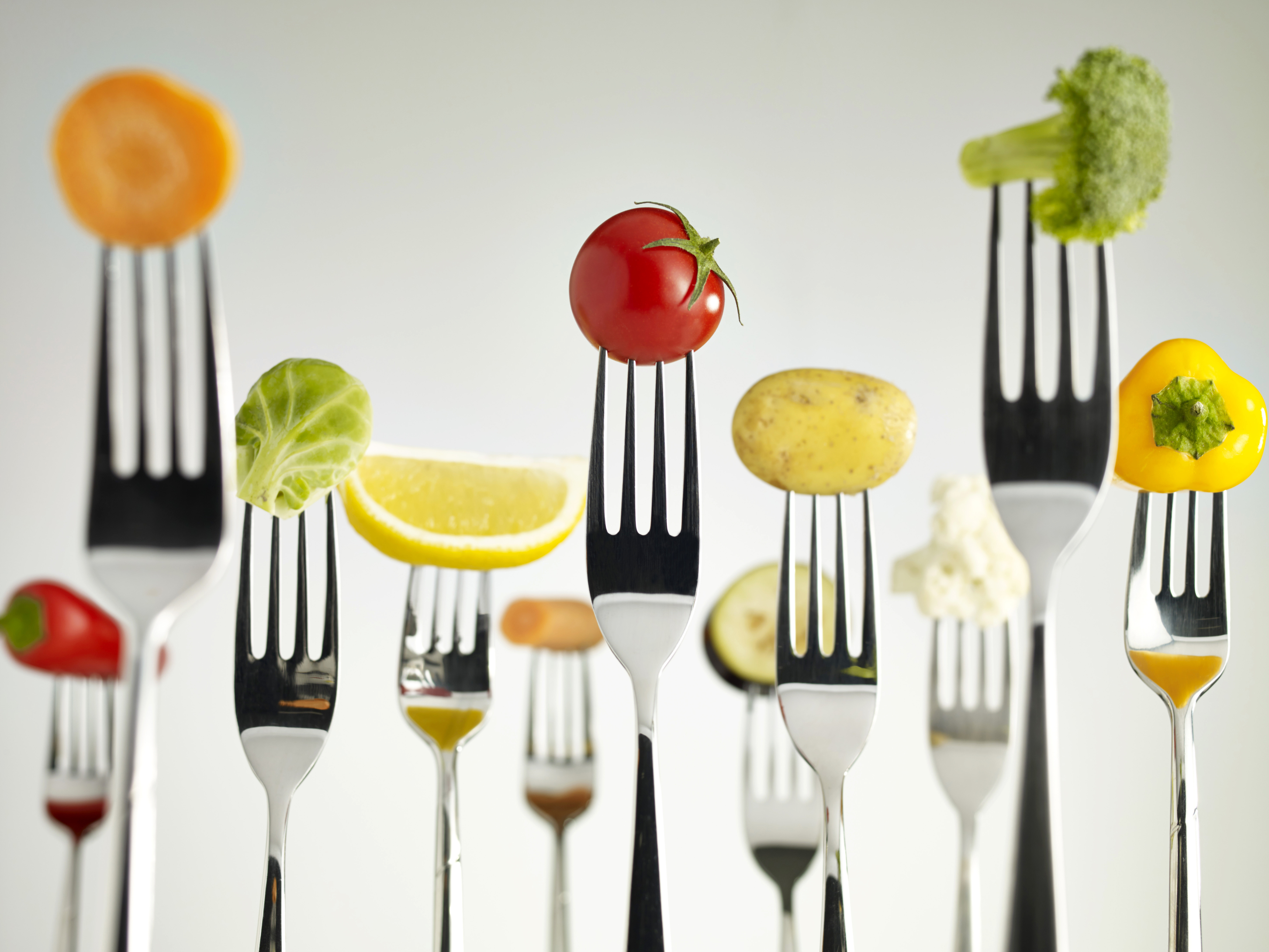 Raw Foods On Forks