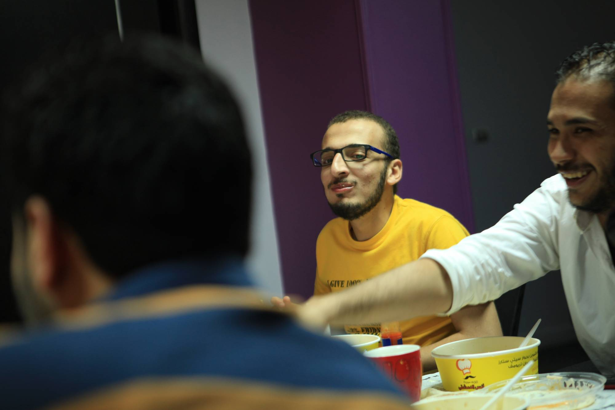 Shehab Gomaa While eating too much